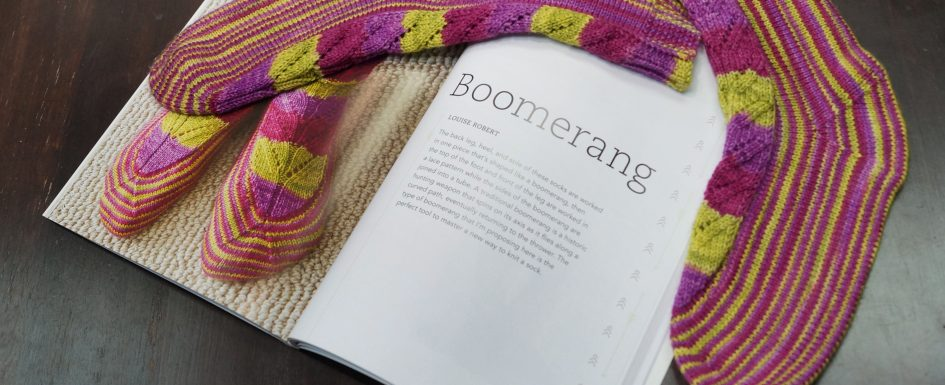 sock design by Louise Robert