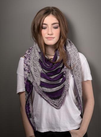 knitting design shawl