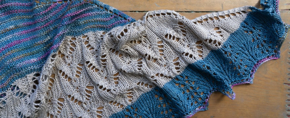 Shawl pattern By The Sea