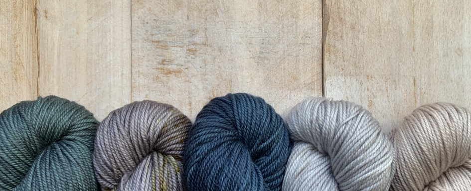Louise Robert Hand-dyed yarn collection