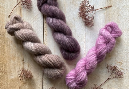 Dolce 100% brushed cashmere yarn
