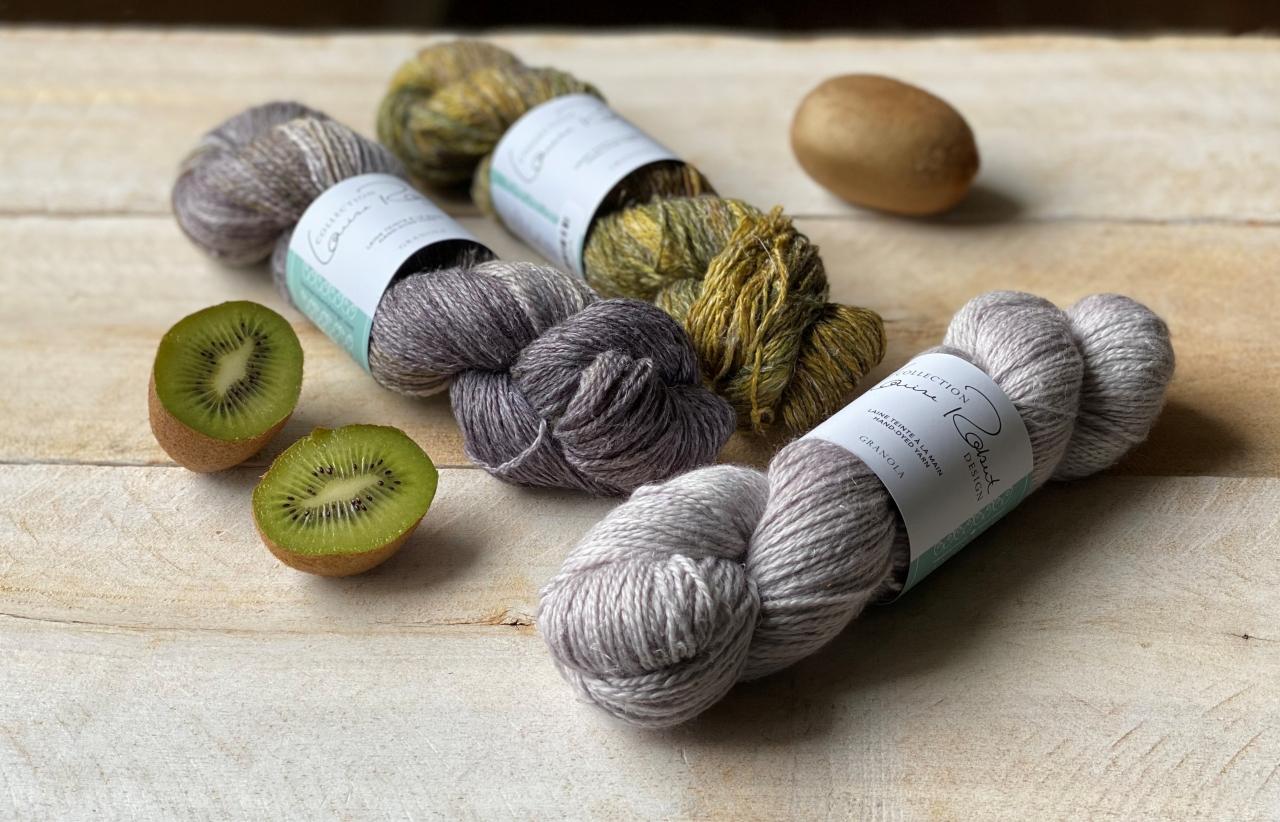 granola - laine de chanvre